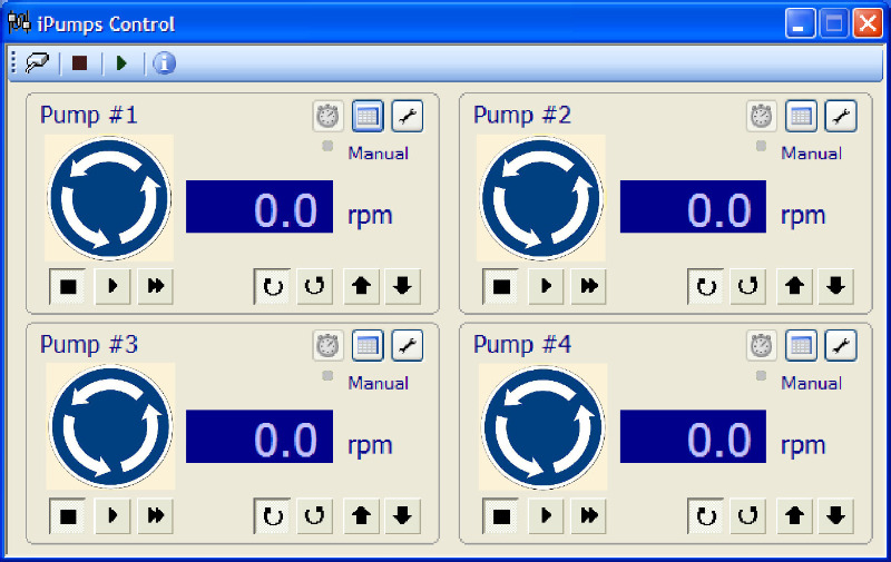 Pump Management Screenshot